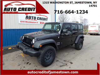 2012 Jeep Wrangler Unlimited for sale in Jamestown NY