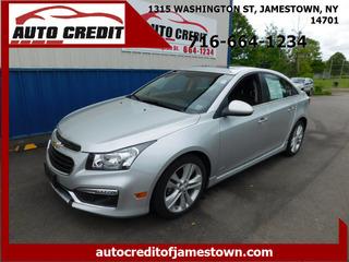 2015 Chevrolet Cruze for sale in Jamestown NY