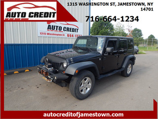 2010 Jeep Wrangler Unlimited for sale in Jamestown NY